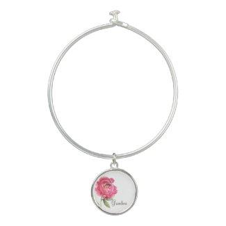 Grandma Peony Bangle Mother's Day Gift Bangle Bracelet