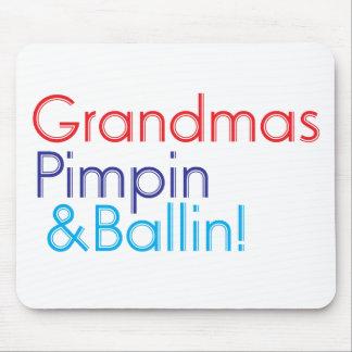 Grandma Pimpin and Ballin Mouse Pad