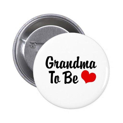 Grandma Pinback Buttons