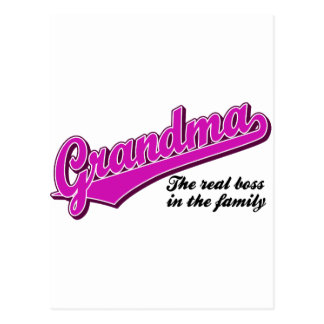 Grandma Postcard