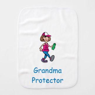 Grandma Protector Burp Cloth