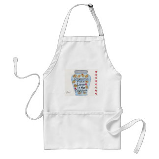 Grandma Puts Love In Her Cookies Apron