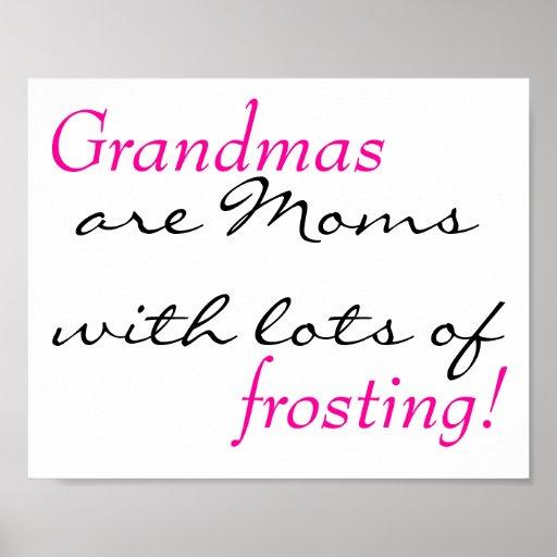 Grandma Quote Poster