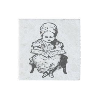 Grandma Read You A Story Design Stone Magnet