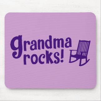 Grandma Rocks Mousepads