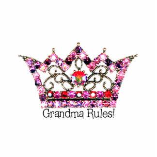 """Grandma Rules"" Tiara SCULPTURE Photo Sculpture"
