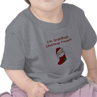 Grandma s Christmas Present Tee Shirt
