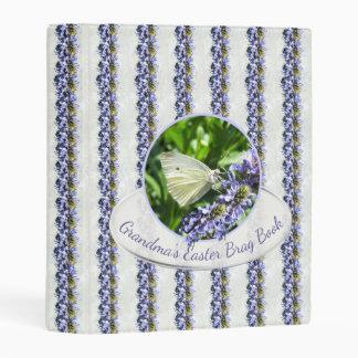 Grandma's Easter Brag Book Butterflies Mini Binder