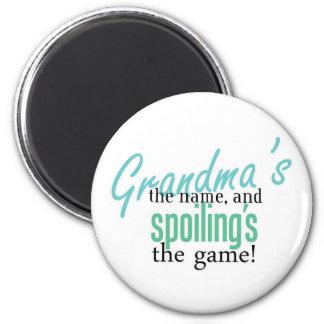 Grandma' s el nombre, y Spoiling' s el G Iman De Frigorífico