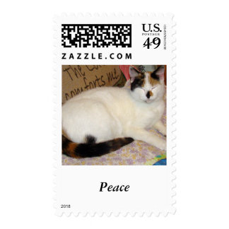 Grandma s house postage stamps