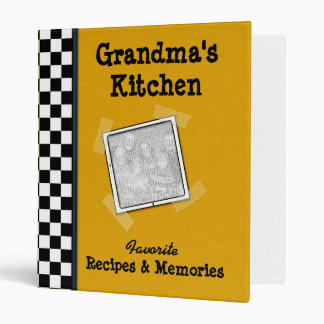 Grandma s Kitchen 1 Family Recipe Binder