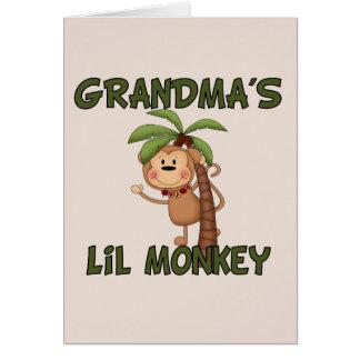 Grandma s Little Monkey Card