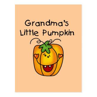 Grandma s Little Pumpkin T-shirts and gifts Postcards