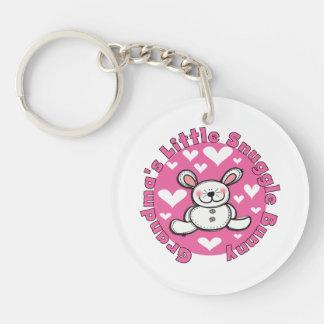 Grandma s Little Snuggle Bunny Acrylic Keychain