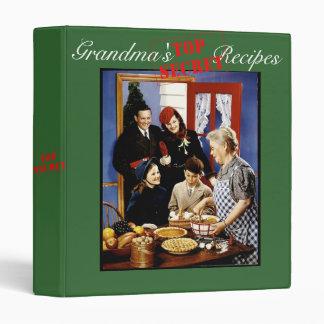 Grandma s Top Secret Recipe Binder