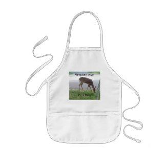 Grandma says I'm a Deer! Kids' Apron