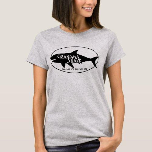 Grandma Shark T_Shirt