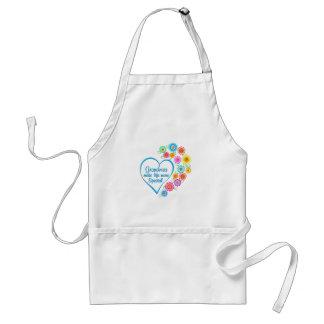 Grandma Special Heart Adult Apron