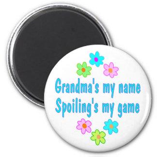 Grandma Spoils Refrigerator Magnets