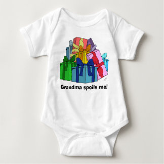 Grandma spoils me with presents t-shirt