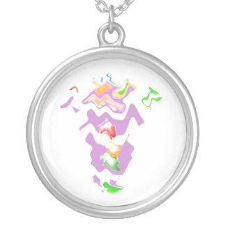 Grandma Super Dance Silver Plated Necklace