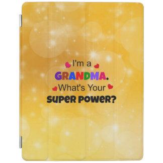 Grandma Super Power custom design iPad Smart Cover