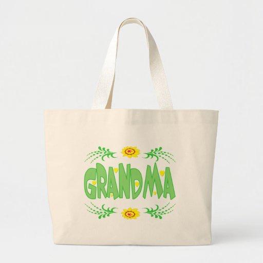 Grandma T-shirts and Gifts For Her Jumbo Tote Bag