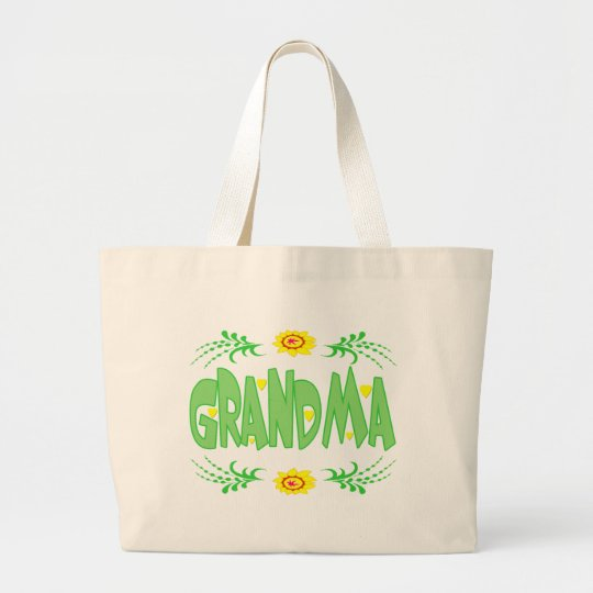 Grandma T-shirts and Gifts For Her Large Tote Bag