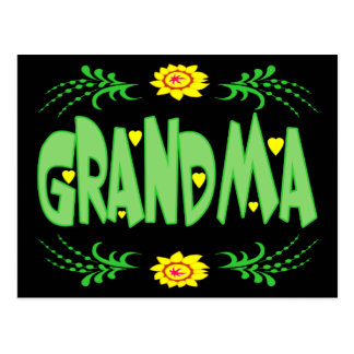 Grandma T-shirts and Gifts For Her Postcard