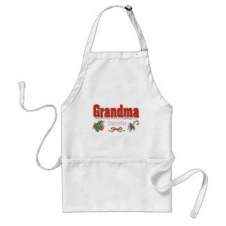 Grandma, The Next Best Thing To Santa Adult Apron
