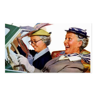 Grandma The Speed Queen Business Card Template
