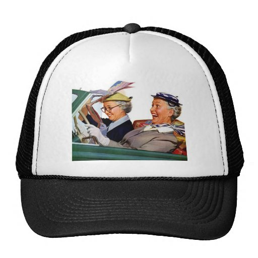 Grandma The Speed Queen Trucker Hat