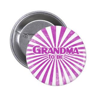 Grandma to Be 2 Inch Round Button