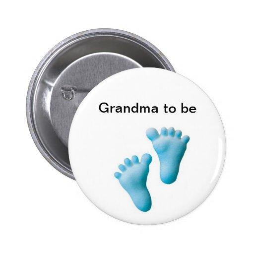 Grandma to be pin