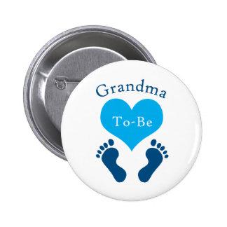 Grandma To-Be 2 Inch Round Button