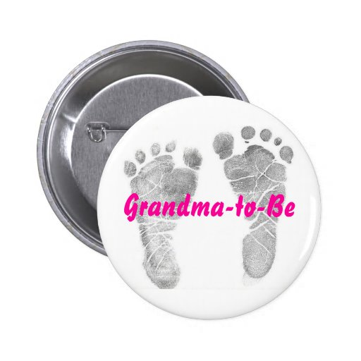 Grandma-to-Be Button