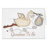 Grandma To Be Card