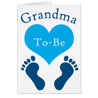 Grandma To-Be Card