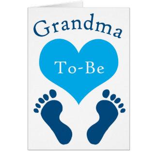 Grandma To-Be Card