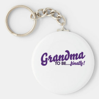 Grandma to be finally key chains
