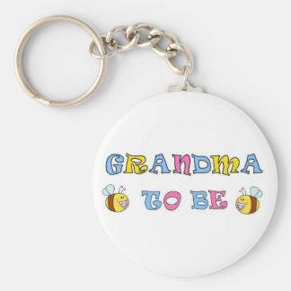 Grandma To Be Keychain
