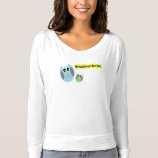 Grandma-to-be owl t-shirts, so cute! t-shirt