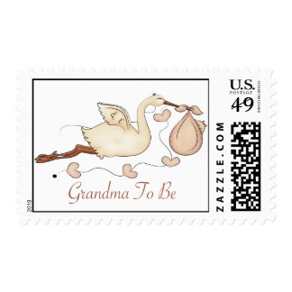 Grandma To Be Postage Stamp