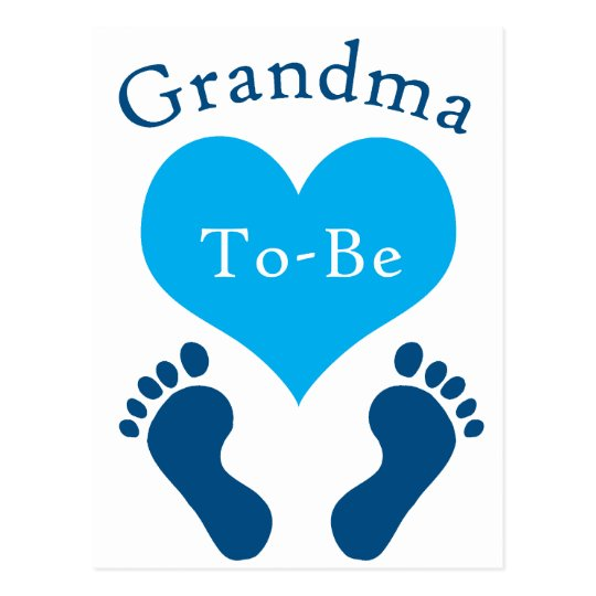 Grandma To-Be Postcard