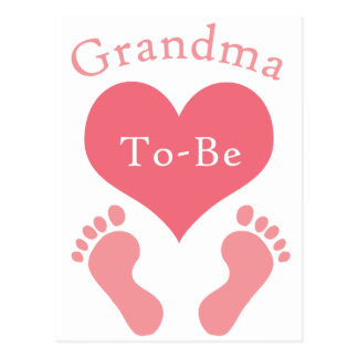 Grandma To-Be Postcard