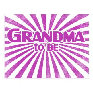 Grandma to Be Postcard