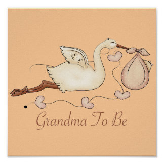 Grandma To Be Poster