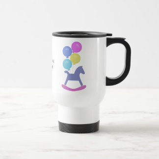 Grandma To be Rocking Horse and Balloon Mug