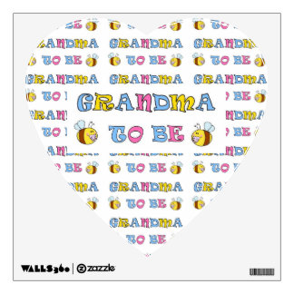 Grandma To Be Wall Sticker