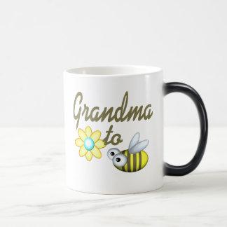 Grandma to Bee 11 Oz Magic Heat Color-Changing Coffee Mug